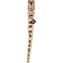 Skinneeez Leather Snake Dog Toy Image