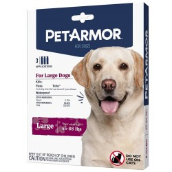 PetArmor Flea and Tick Treatment for Large Dogs (45-88 Pounds) Image
