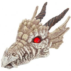 Penn Plax Gazer Dragon Skull Aquarium Ornament Image