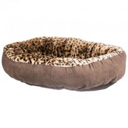 Aspen Pet Round Pet Bedding - Animal Print Image