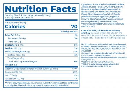 High Impact Whey Protein alternate img #2