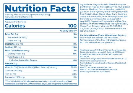 High Impact Plant Protein alternate img #2