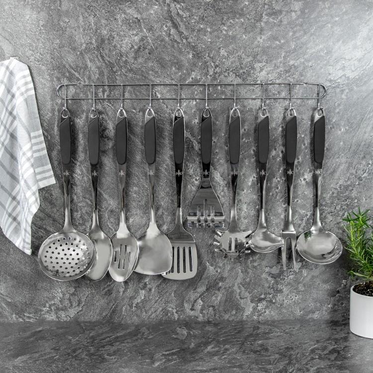 10 Pc. Kitchen Tool Set - Black alternate img #1