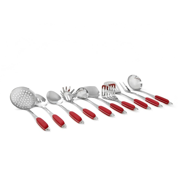 10 Pc. Kitchen Tool Set - Red alternate img #3