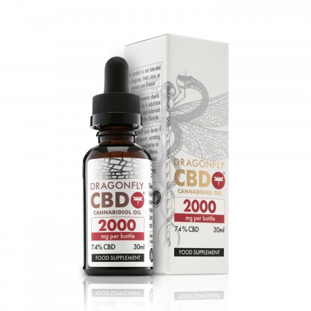 Narrow Spectrum 7.4% CBD Oil - 30ml alternate img #1