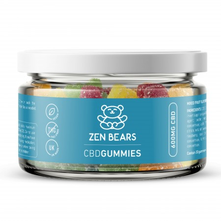 CBD Gummies 20mg CBD Per Bear - 30 pcs alternate img #2