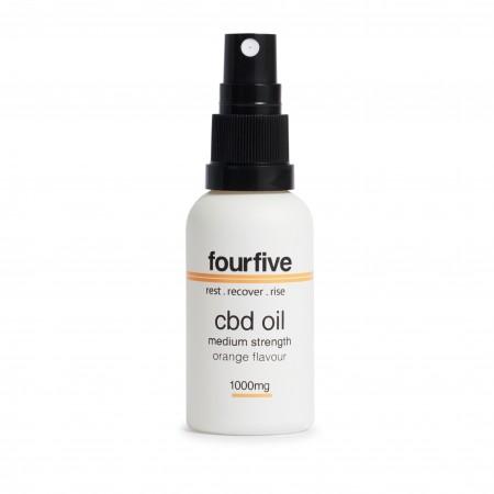 1000Mg Orange CBD Oil alternate img #1