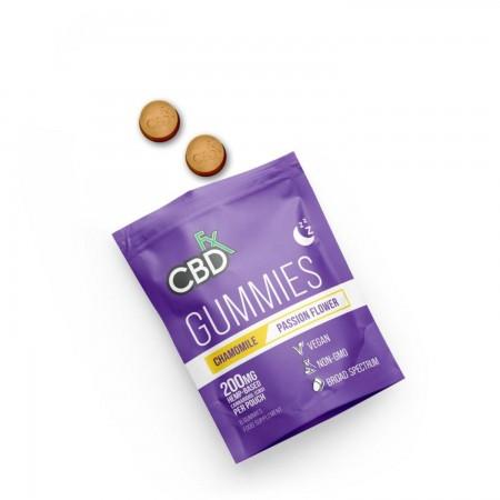 200mg CBD Chamomile & Passionflower Sleep Gummies (8pcs) alternate img #1