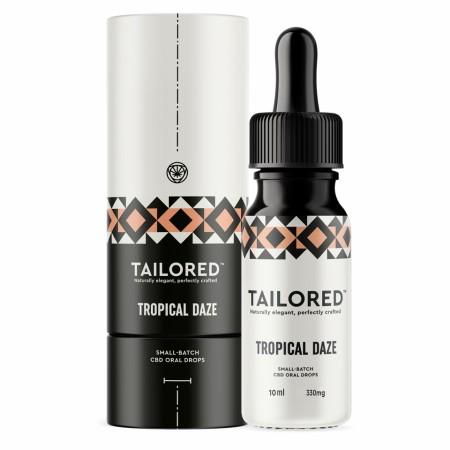 Tropical Daze 3.3% Broad Spectrum CBD Oral Drops - 10ml alternate img #1
