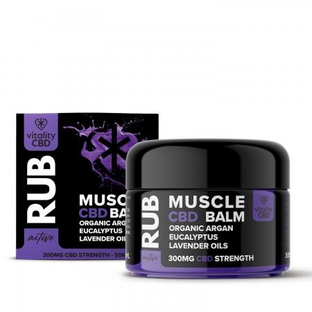 Muscle Rub 300mg CBD  alternate img #1