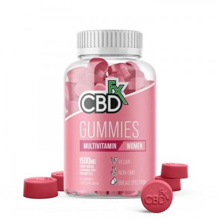 1500mg CBD Women's Multivitamin Gummies (60pcs) alternate img #1