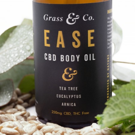 EASE 250mg CBD Body Oil alternate img #4