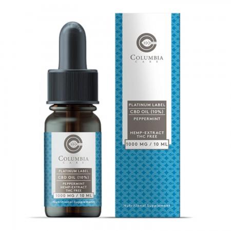 10% Broad Spectrum Peppermint CBD Oil alternate img #1