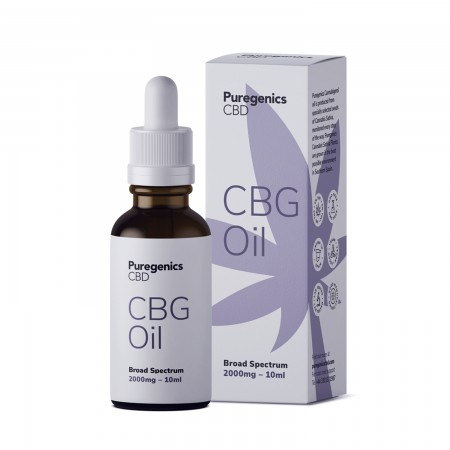 Broad Spectrum 20% CBG Oil - 10ml alternate img #1