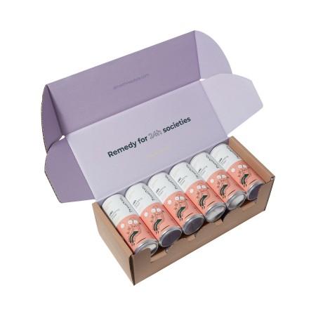 Grapefruit & Basil CBD Sparkling Water - 12 pack alternate img #1