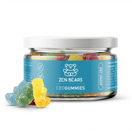 CBD Gummies 20mg CBD Per Bear - 30 pcs alternate img #1
