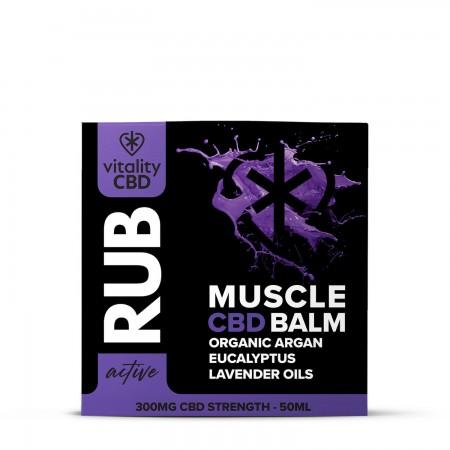 Muscle Rub 300mg CBD  alternate img #2