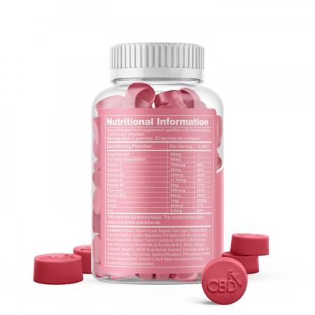 1500mg CBD Women's Multivitamin Gummies (60pcs) alternate img #2