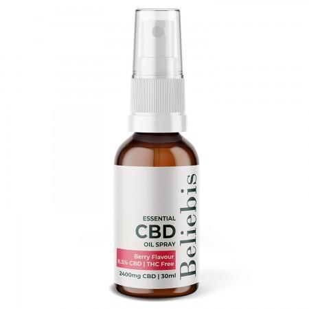 Narrow Spectrum 8% CBD Oil Spray Berry Flavour - 30ml alternate img #1