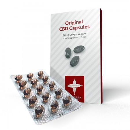 20mg CBD Capsules (15pcs)