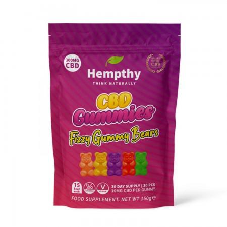 10mg CBD Gummies - Fizzy Gummy Bears (30pcs) alternate img #1
