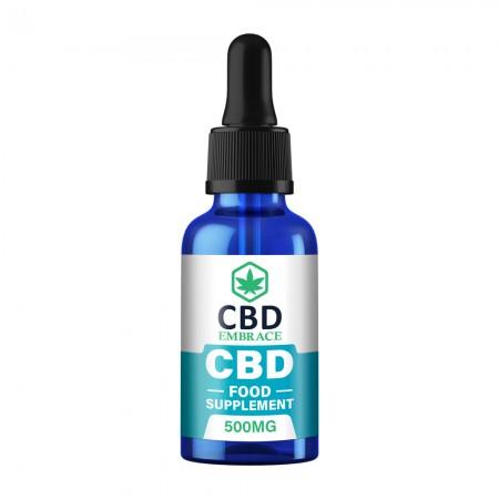 500mg Full Spectrum CBD Oil Food Supplement - 30ml alternate img #1