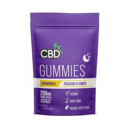 200mg CBD Chamomile & Passionflower Sleep Gummies (8pcs) alternate img #2
