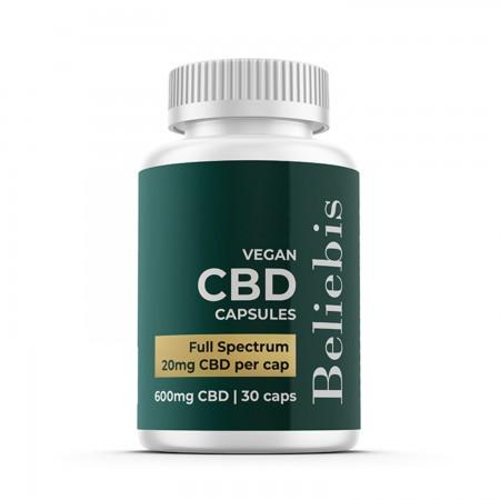 20mg Full Spectrum CBD Capsules (30pcs) alternate img #1