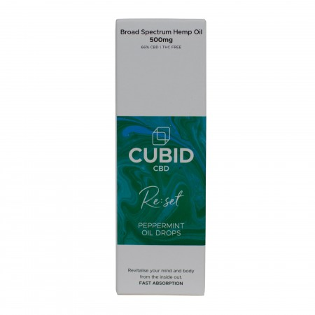 500mg Broad Spectrum Cbd Oil Peppermint - 30ml alternate img #2