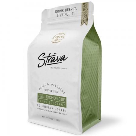 100mg Broad Spectrum Hemp CBD Coffee Beans alternate img #1