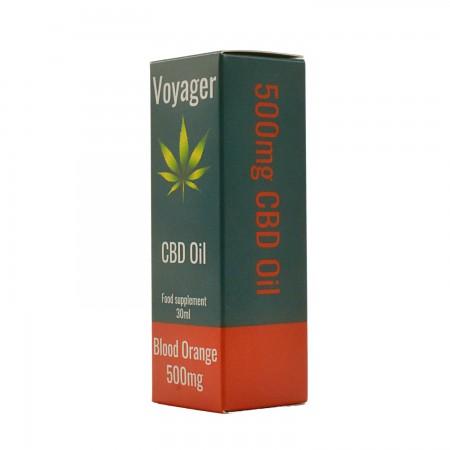500mg Isolate CBD Oil Blood Orange Flavour - 30ml alternate img #2