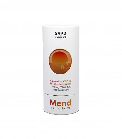 10% Broad Spectrum Mend CBD Oil - 10ml alternate img #1