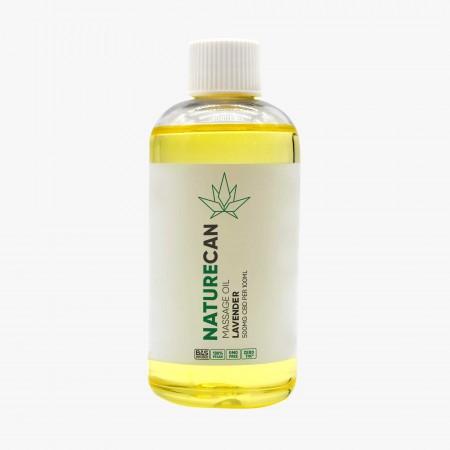 Lavender Massage Oil 500mg Hemp - 100ml alternate img #1