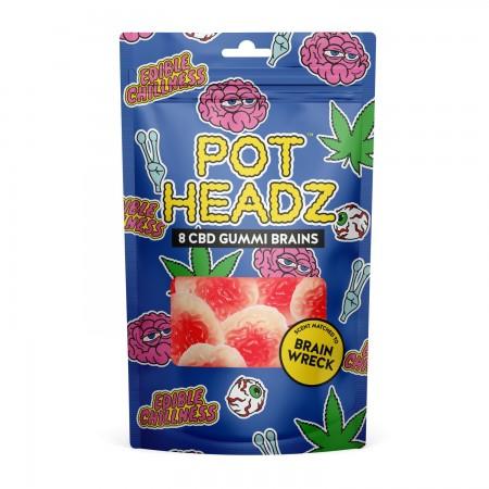 Hemp Gummies - POT Headz - 8 hemp Gummies  alternate img #1