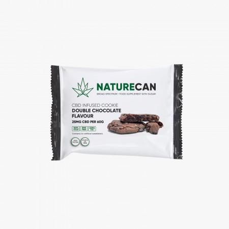 Naturecan Hemp Double Chocolate Cookie (Box of 12) alternate img #2