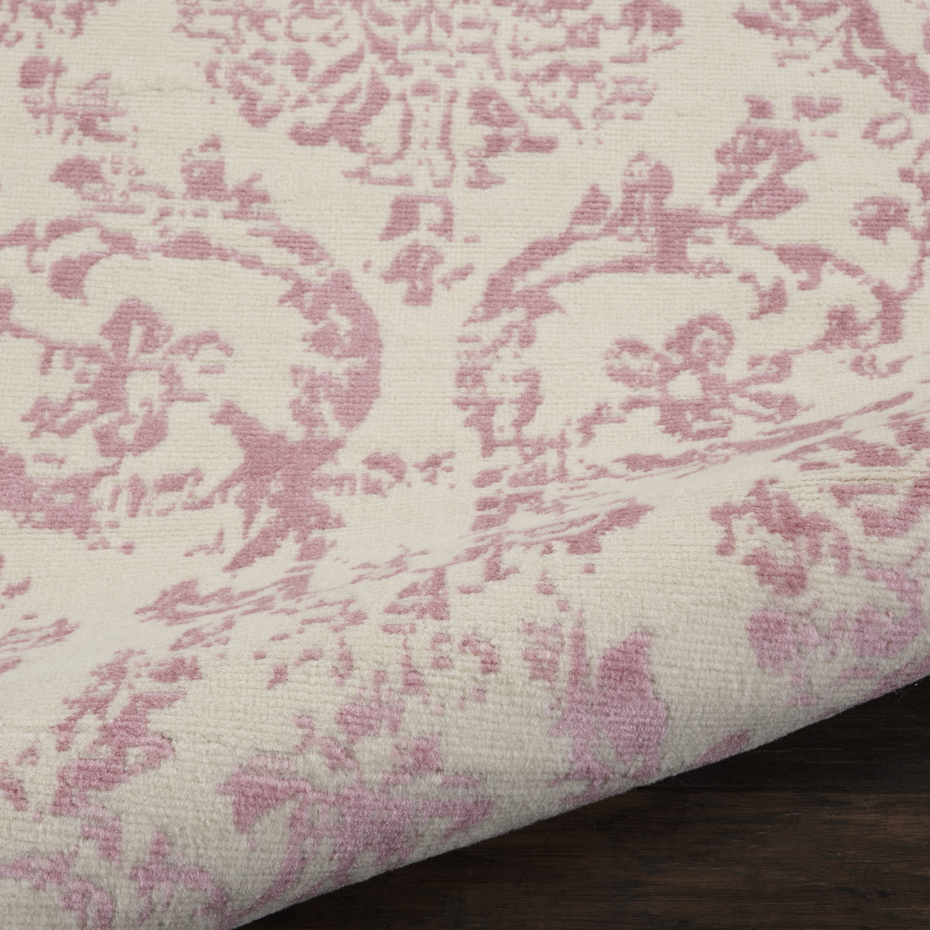 Jubilant Jub09 Area Rug Farmhouse Vintage Damask By