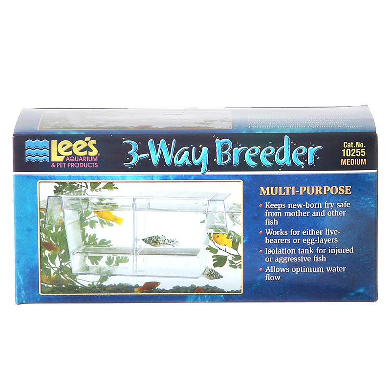 Lees 3 Way Breeder Tank