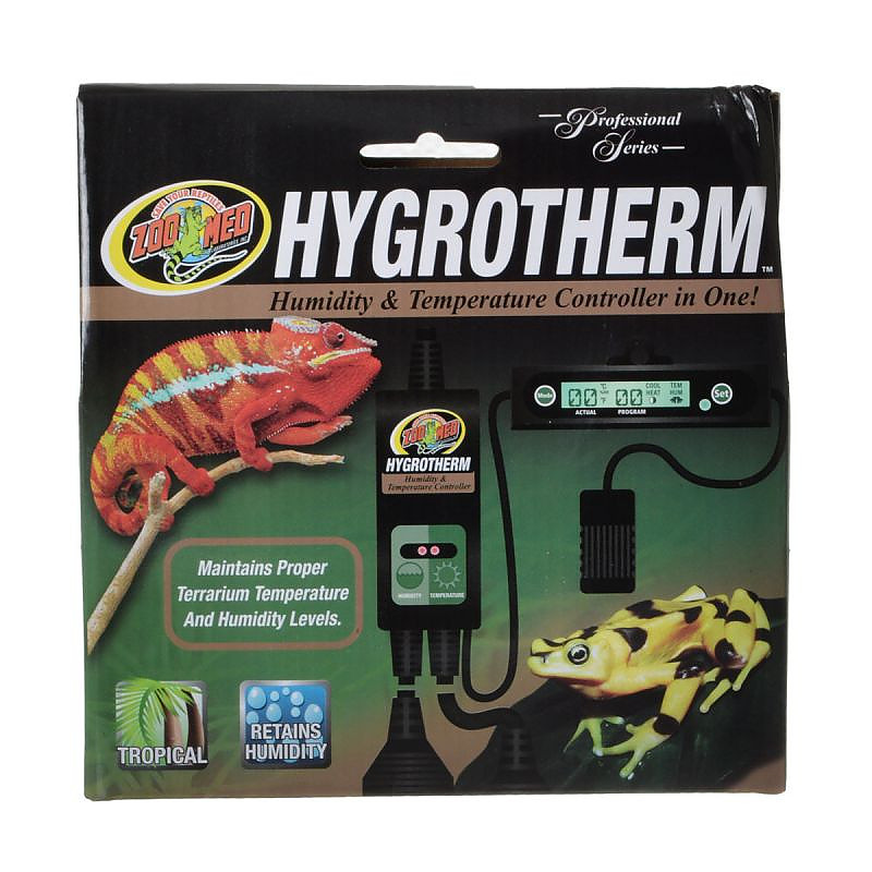 Zoo Med Hygrotherm - Humidity & Temperature Controller