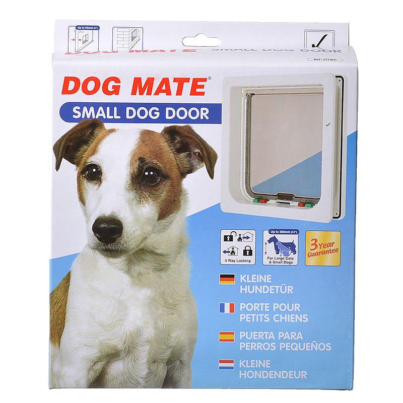 Dog Mate Medium Dog Door White 215w Christmas Ornament