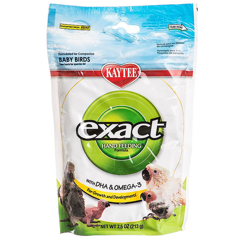 Kaytee Exact Hand Feeding Formula For All Baby Birds