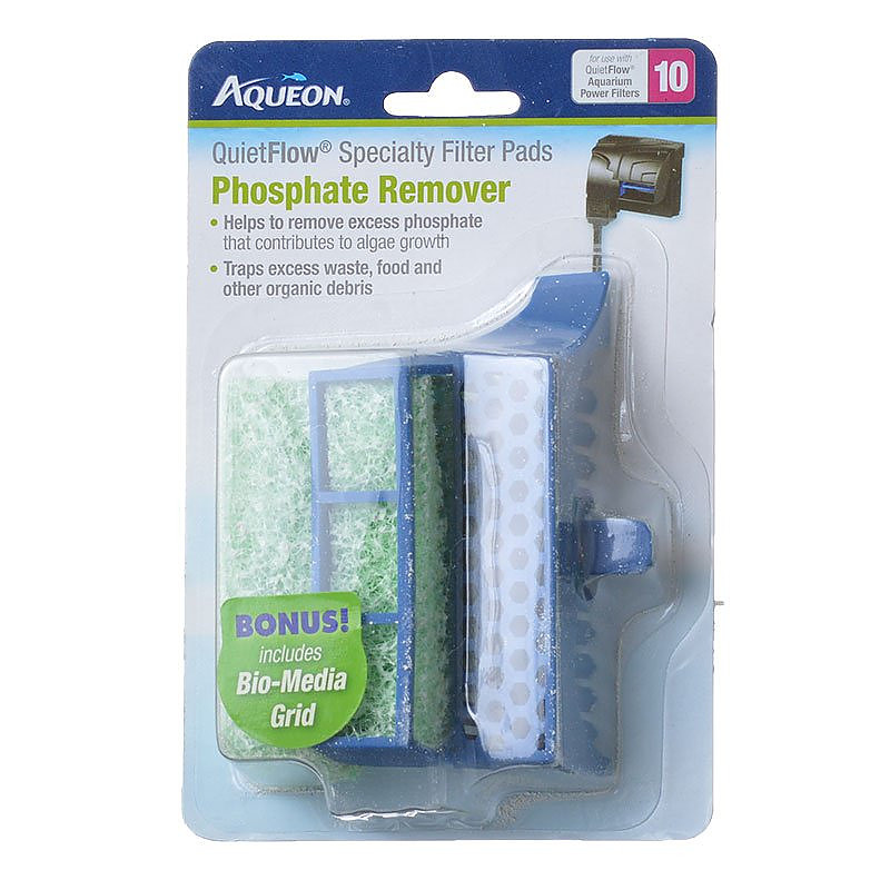 aqueon quietflow specialty filter pads phosphate remover