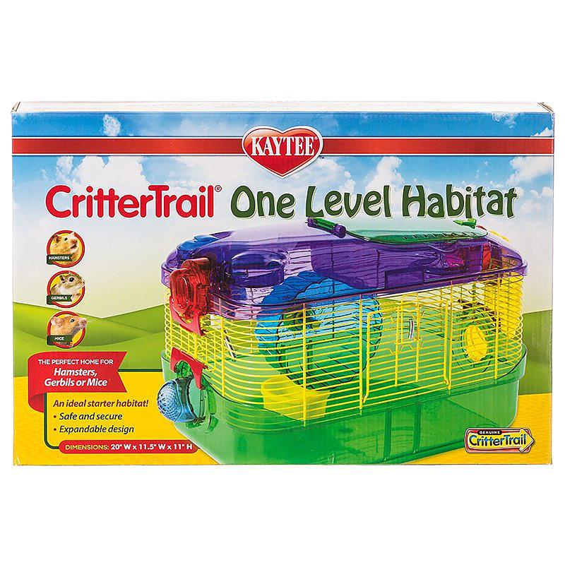 kaytee crittertrail one level habitat