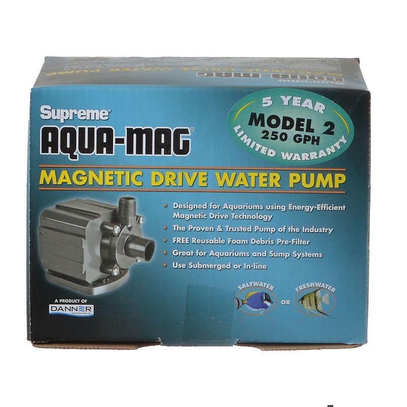 Pumps (water) Danner Mag-drive Supreme 3600 Aquarium Water Pump Beautiful In Colour