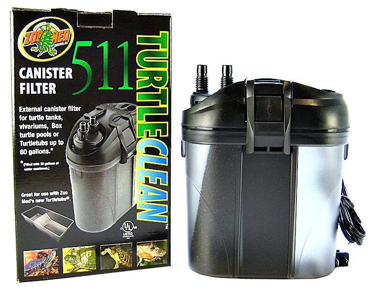 Zoo Med Turtle Clean 511 Canister Filter