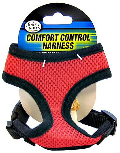 Four Paws Comfort Control Harness Red Alternate Img 1