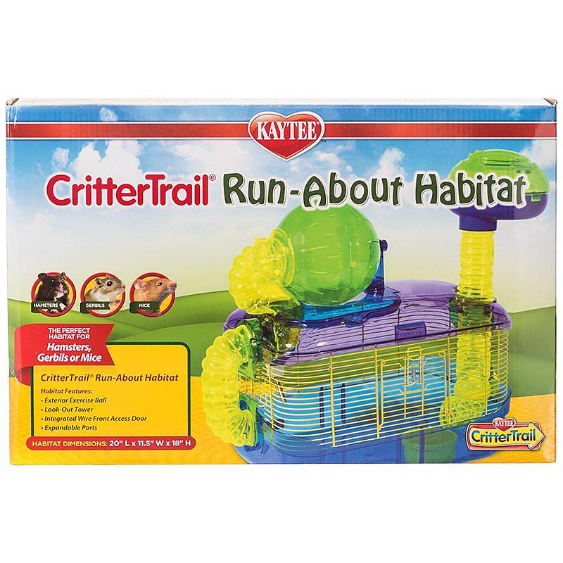 kaytee crittertrail run about habitat