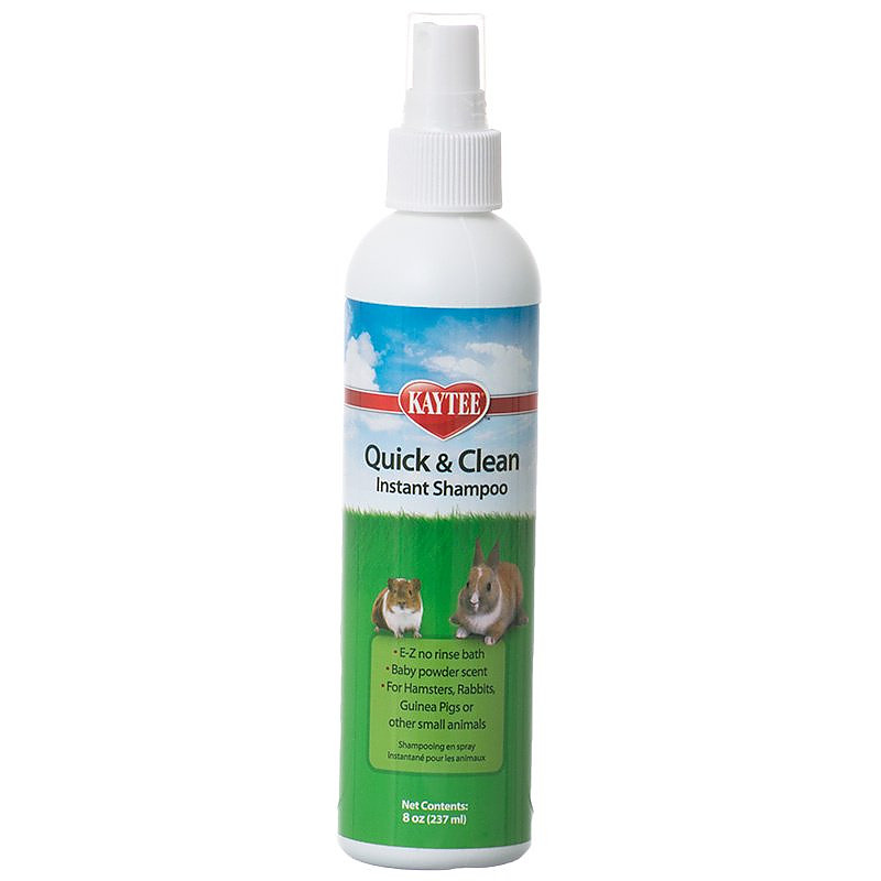 Kaytee Quick Amp Clean Instant Shampoo For Small Pets