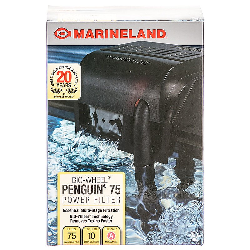 NEW//FreeShip A-Red//6-Pack Marineland Rite-Size Penguin Power Filter Cartridges