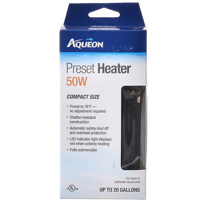 Aqueon Preset Heater For Aquariums
