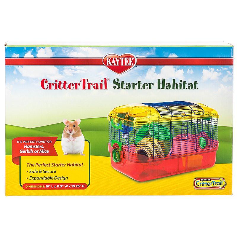 kaytee crittertrail starter habitat